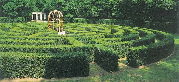 tailacreaciones: Labyrinthe Jardin Plantes