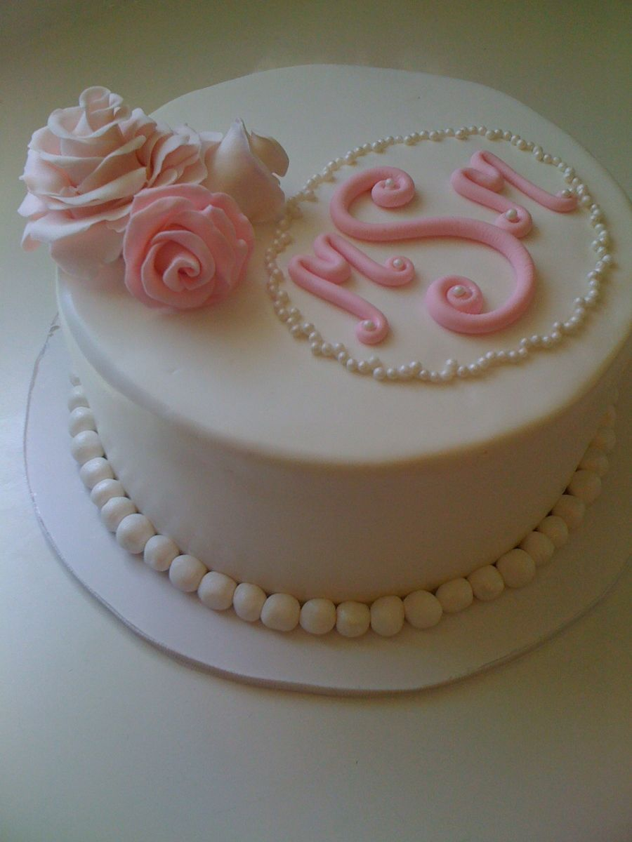 Bridal Shower Cake Ideas Instructions Simple