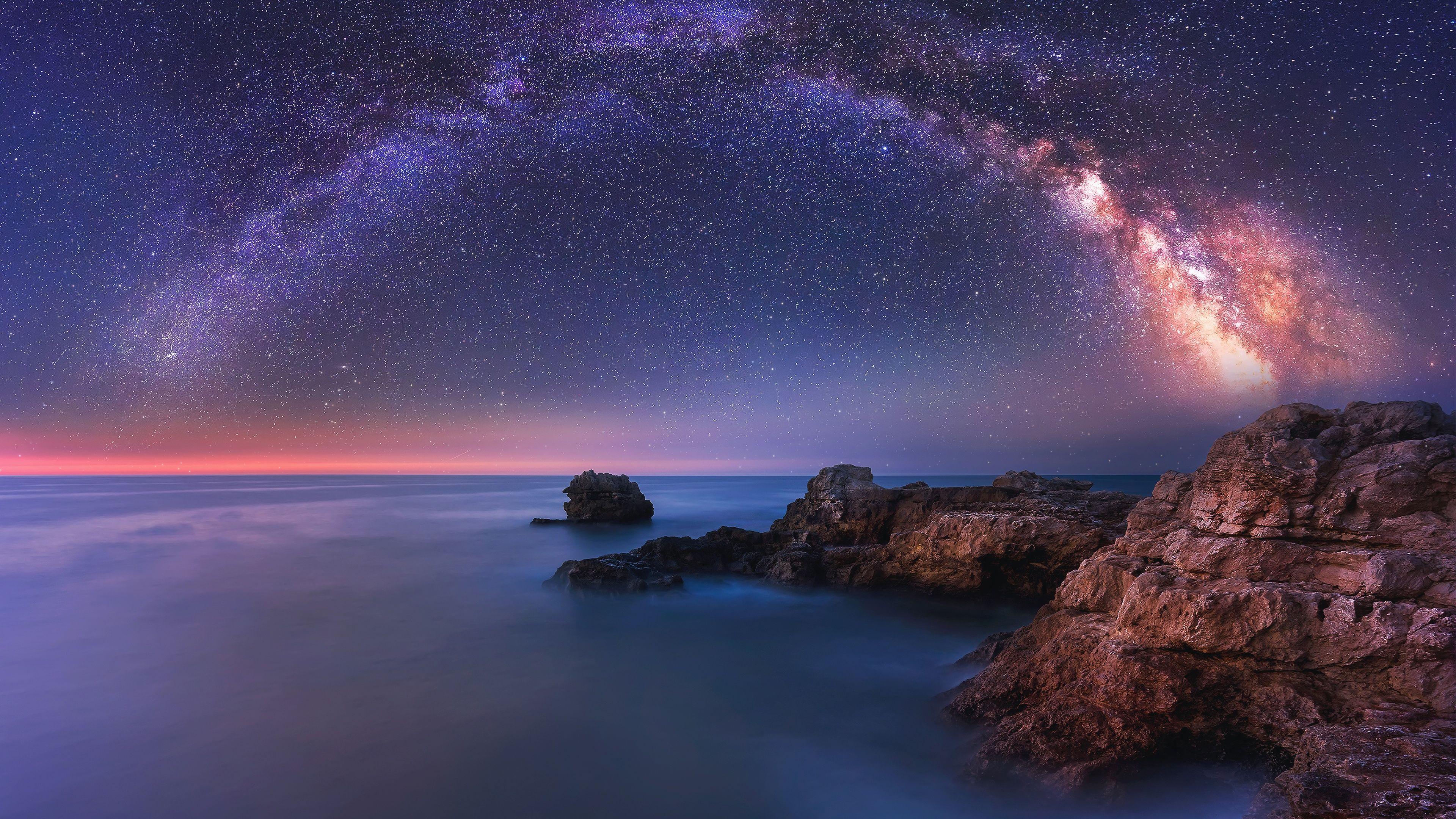 Amazing Milky Way Wallpaper Nature Wallpaper Milky Way Cool