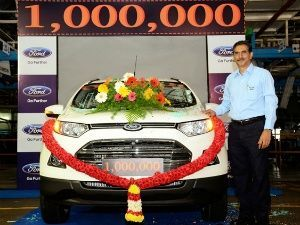 Ford India Rolls Out 1 Millionth Ecosport Ford Upcoming Cars