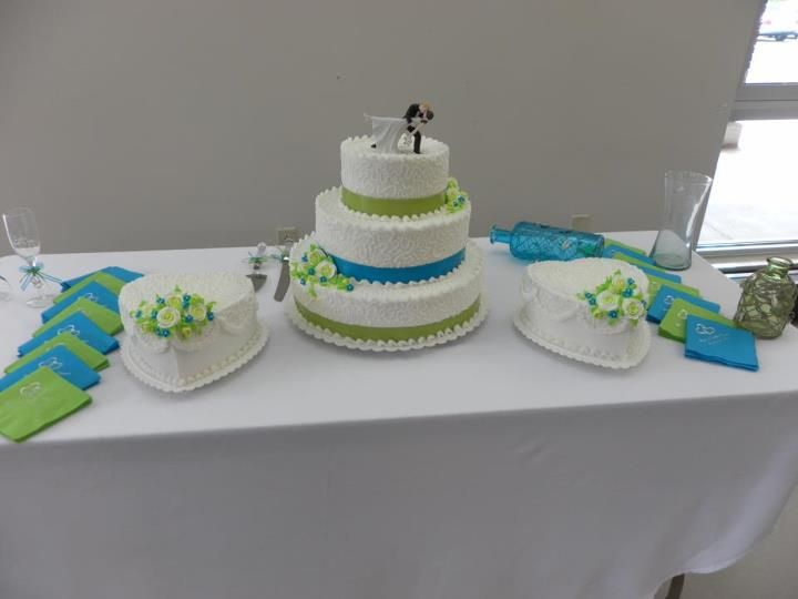 Wedding Cake Colors Lime Green Turquoise Jess No Way You Don