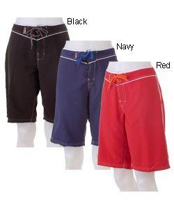 a5f45afdcd Long Swim Shorts For Women | Beach Rays Womens Long Board Shorts |  Overstock.com
