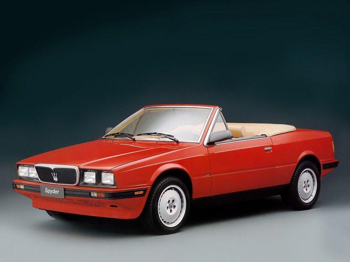 Maserati Biturbo Spyder (1989 - 1991). | Maserati biturbo, Maserati car, Maserati