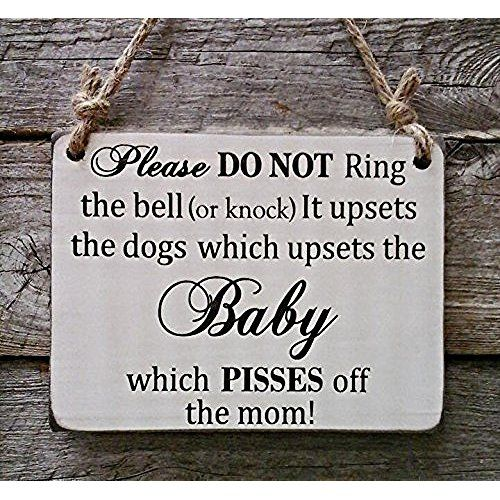 Forget Dog Beware Of Kids Sign Funny Sign Front Door Sign