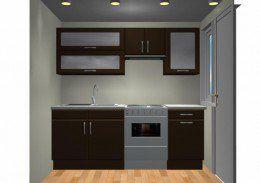 Cocinas minimalistas para casas peque as buscar con for Fabricantes de cocinas integrales economicas df