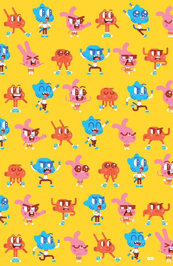 Gumball Texture On Behance In 2019 Gumball World Of
