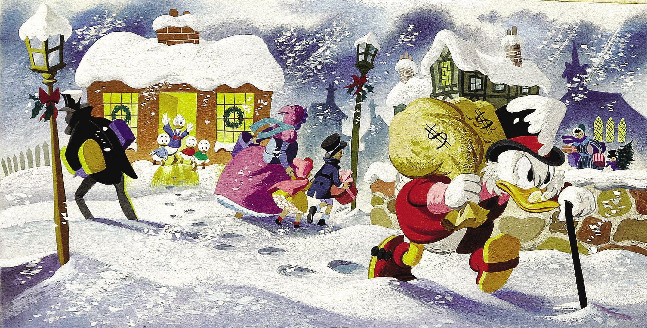 Scrooge Mcduck Wallpaper