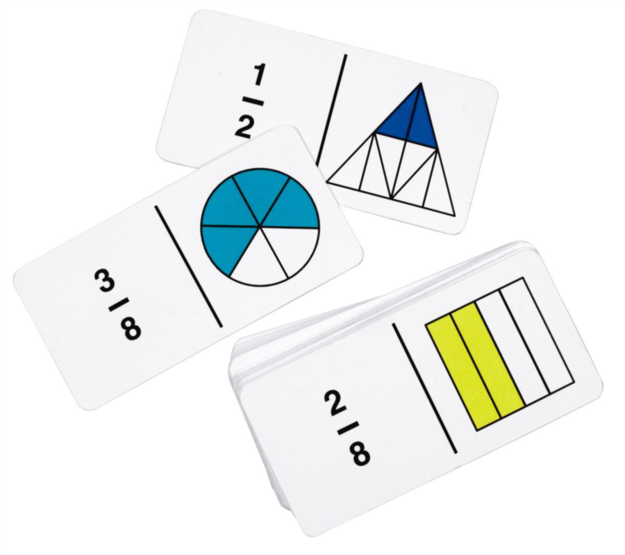 Rainbow Fraction Dominoes - A fun twist on traditional dominoes ...