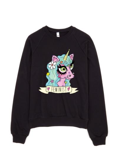 Feminist Unicorn Sweatshirt