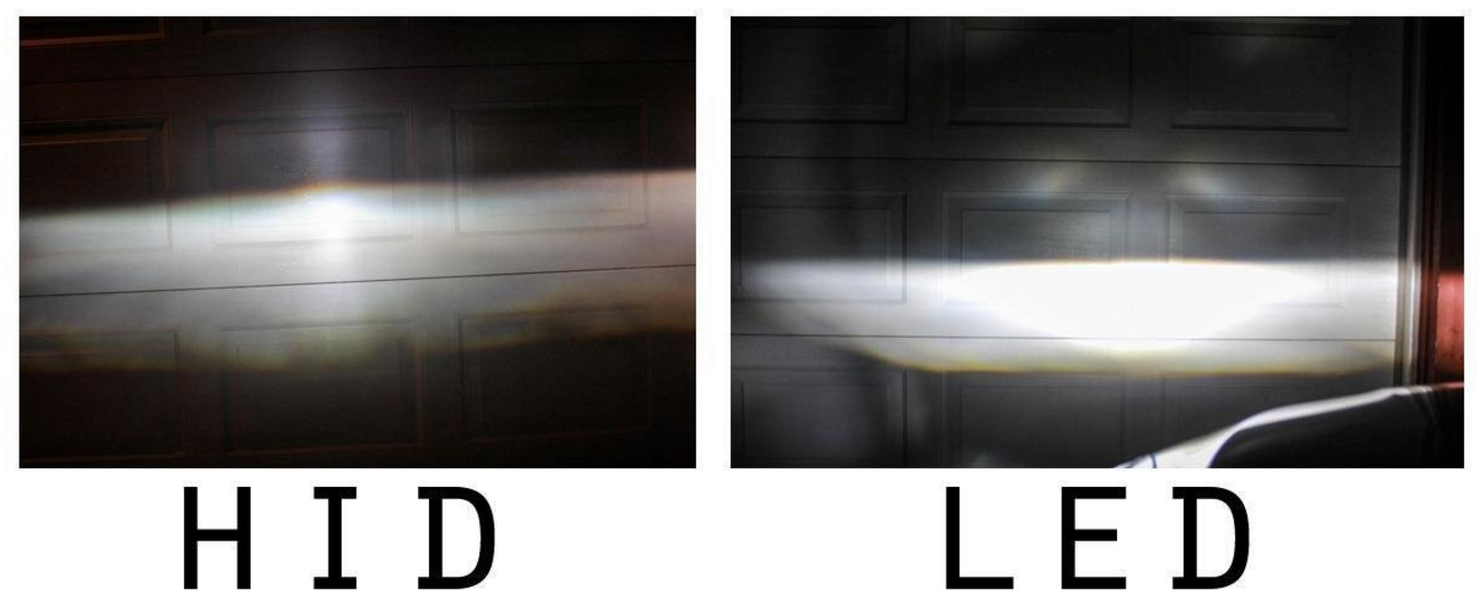Led Headlights Vs Hid >> Upgrade Your Halogen Or Hid Headlights To Plug And Play Led