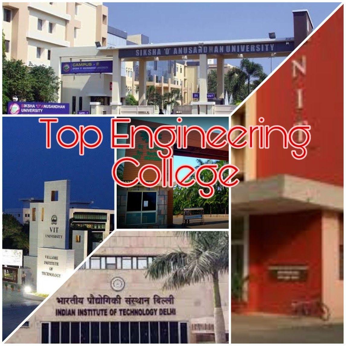 Top Engineering Colleges In 2020 Top Engineering Colleges Engineering Colleges Engineering
