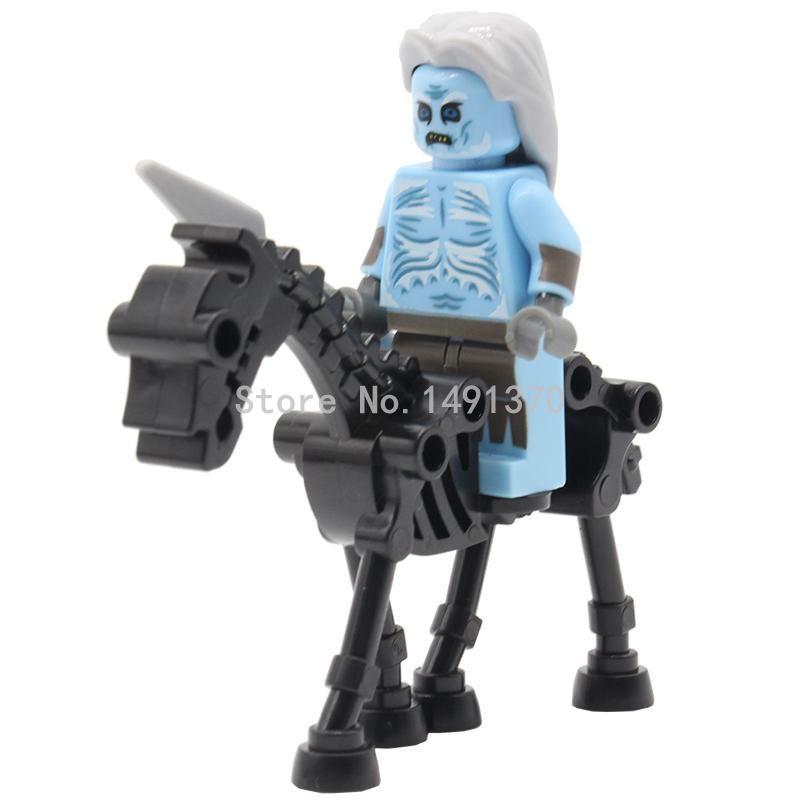Pogo skeleton wit walker wit zwart paard game of thrones mini ijs en ...