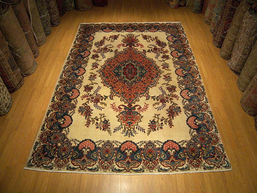 9x12 Handmade Antigue Persian Tabriz 2758 Royal 8x11 Antique Wool Rug Genuine