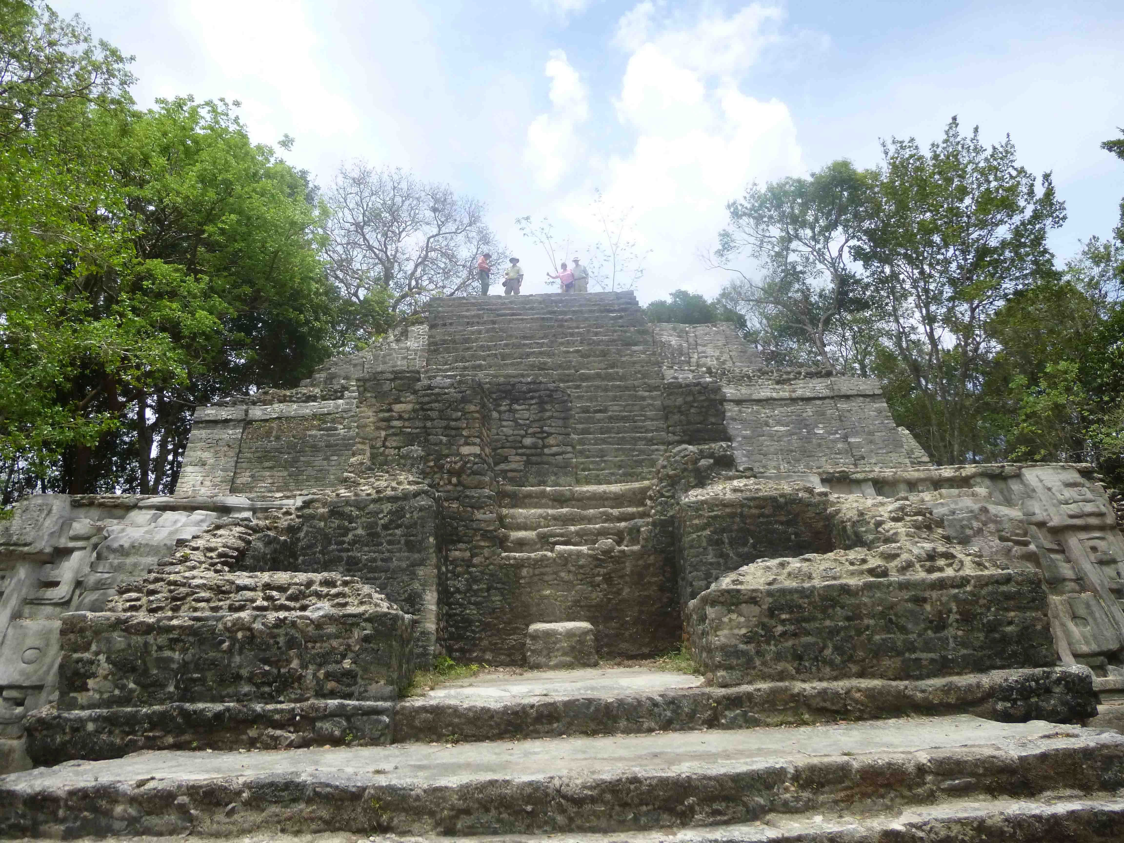 Lamanai is a Mesoamerican archaeological site, and was once a considerably sized city of the Maya civilization, located in the north of Belize, in Orange Walk District