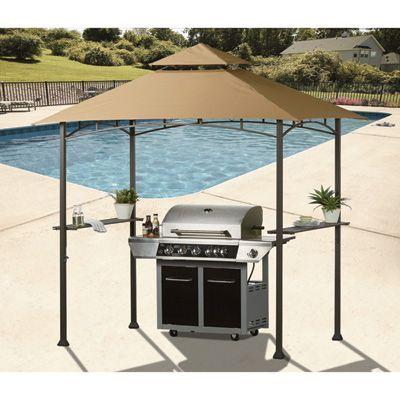 8ft X 5ft Deluxe Grill Gazebo Canopy Gazebo Canopy Backyard Canopy Canopy Outdoor