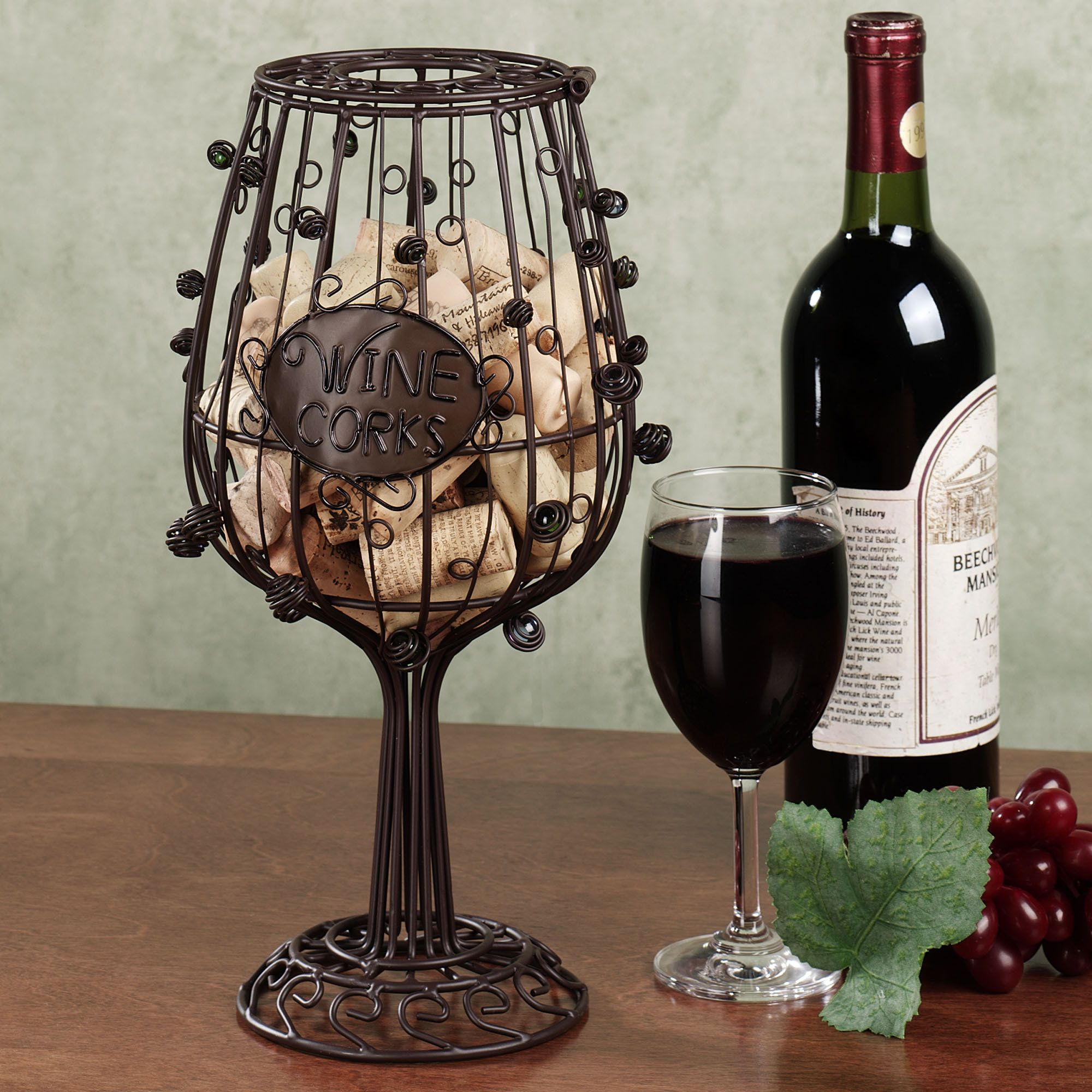 Wine Glass Cork Cage R