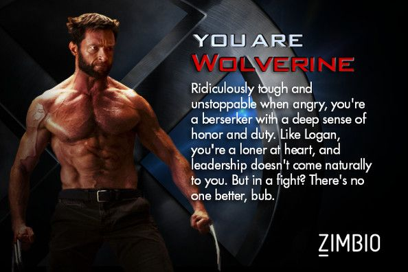 Which X Men Character Are You X Men Funny X Men Personality Quiz