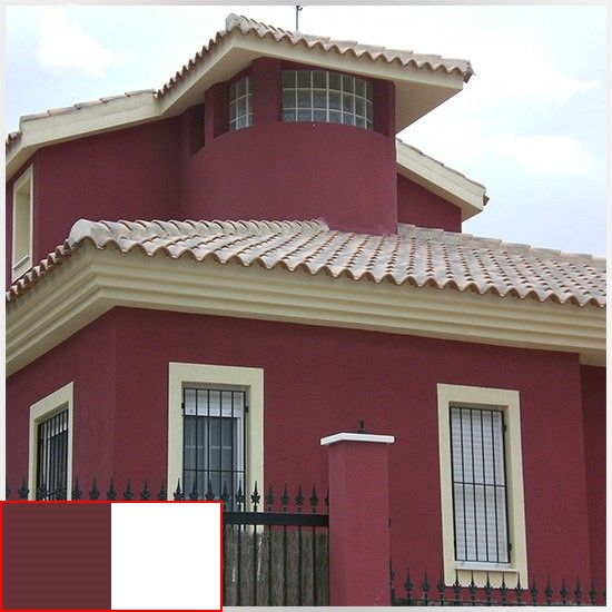 Colores para una casa por fuera 550 550 casa for Colores modernos para exteriores