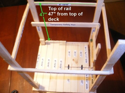 Free Plans for Tower Deer Stand Top Level