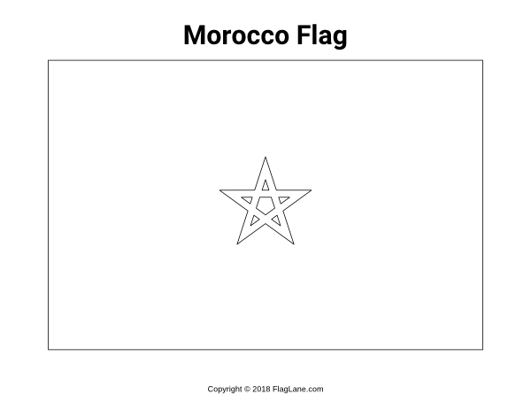 Free Printable Morocco Flag Coloring Page Download It At Https Flaglane Com Coloring Page Moroccan Flag Morocco Flag Flag Coloring Pages Moroccan Flag