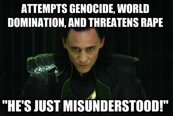 loki quotes   avengers spoilers Misunderstood Loki babychips •