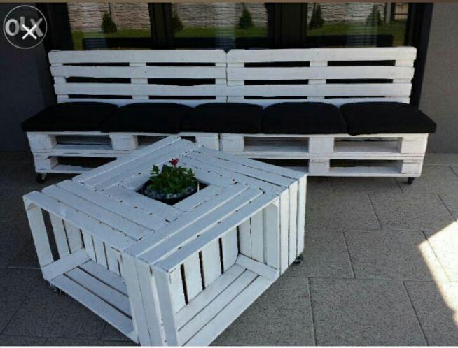 Meble Tarasowe Ogrodowe Z Europalet Garden Furniture My