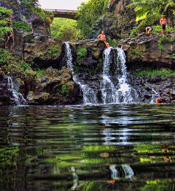 Ohe O Gulch 7 Pools Of Ohe O Hana Area Maui Hawaii Travel Fun Beautiful Places On Earth Places To Travel