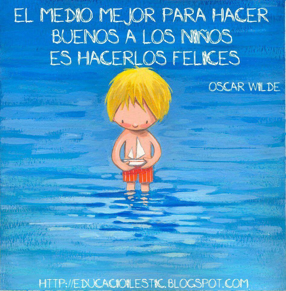 Pin De Héctor Méndez En Inspiracional Frases Bonitas Para Niños Frases De Niños Felices Frases De Niños