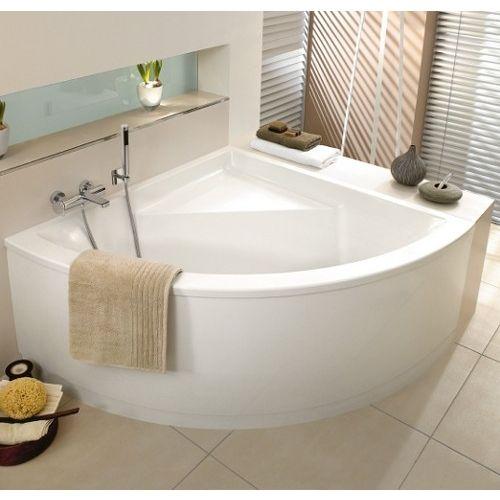 Villeroy \ Boch Badewanne PF Eck Subway 1300x1300 BA130SUB3PFV - badezimmermöbel villeroy und boch