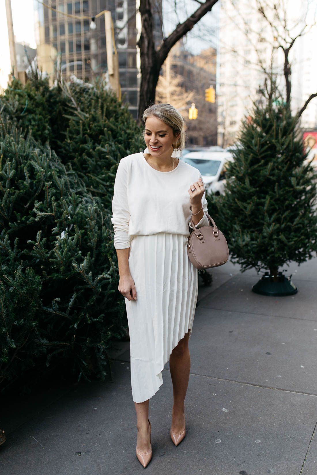 Winter White Outfit - Styled Snapshots