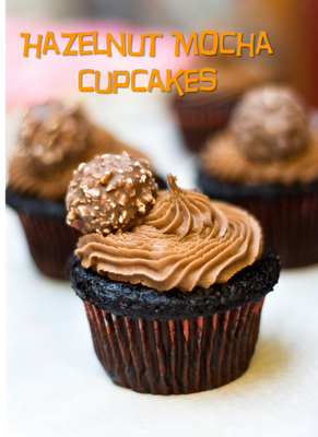 Hazelnut Mocha Cupcakes