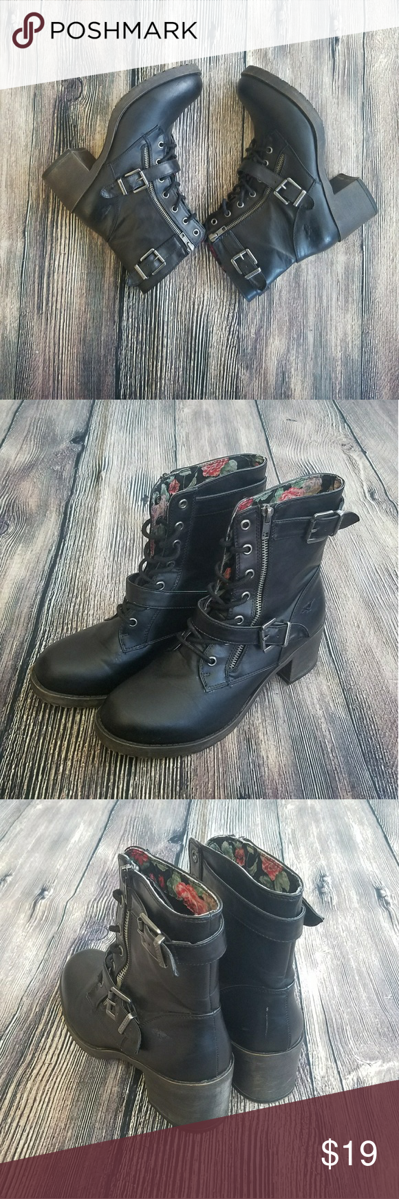 Rocket Dog Combat Boots Looking for some comfortable combat boots? Look no further this are the ones you've been looking for !!  BUNDLE to receive a better deal!!! Rocket Dog Shoes Combat & Moto Boots