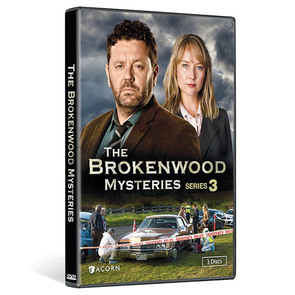 Brokenwood Mysteries Series 3 Dvd & Blu-ray - DVD