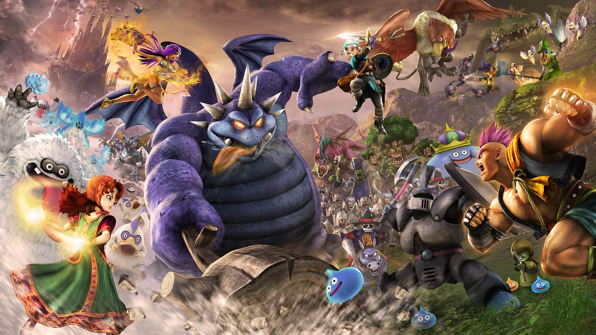 dragon quest heroes ii has online co op hitting ps4 and steam in