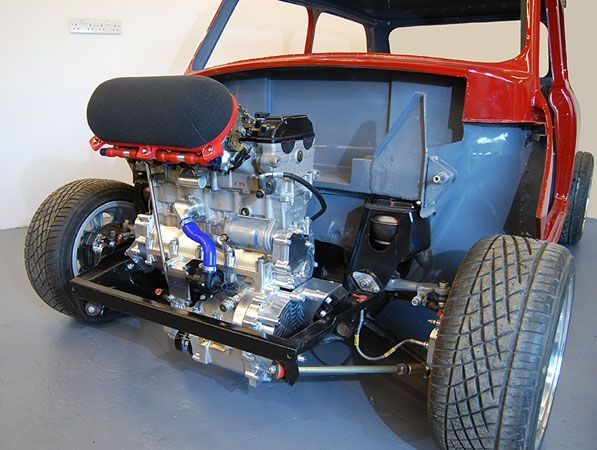 Image Result For Classic Mini With Tiny Engine Swap Classic Mni