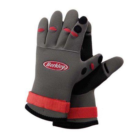 Berkley Neoprene Fish Gloves Black Fishing Gloves Berkley Fishing Gloves