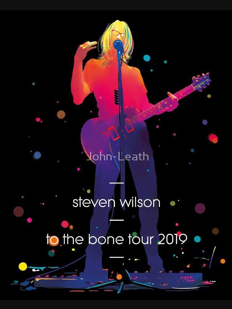 to the bone tour steven wilson 2019 Tshirt by JohnLeath