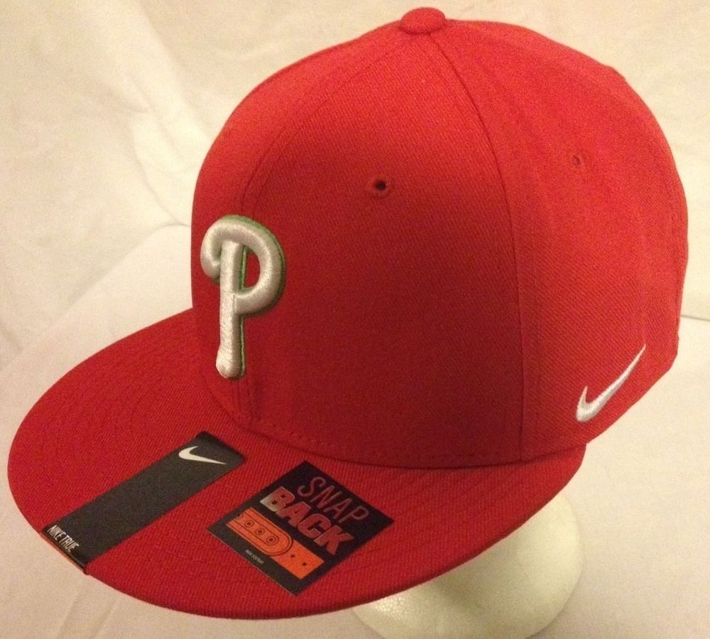 ac1561ceba6 New Nike Philadelphia Phillies MLB Baseball Snapback Hat Cap Deadsto ...