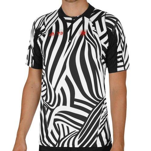 adidas Roland Garros Y 3 T Shirt Boys White, Black