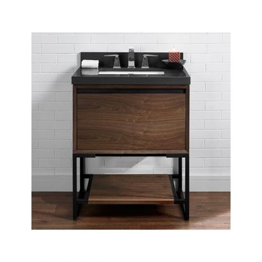 Fairmont Designs 1505 V30 M4 Natural Walnut Bathroom Vanity 30 X 21 1/2 X  34 1/2 | Bathroom Vanities, Vanities And Natural