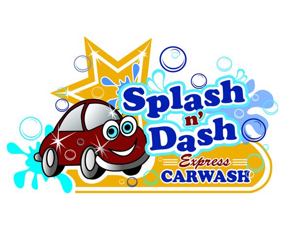 Splash And Dash Car Wash >> Splash And Dash Express Car Wash Logo 23 Diy Ideas Logos Design