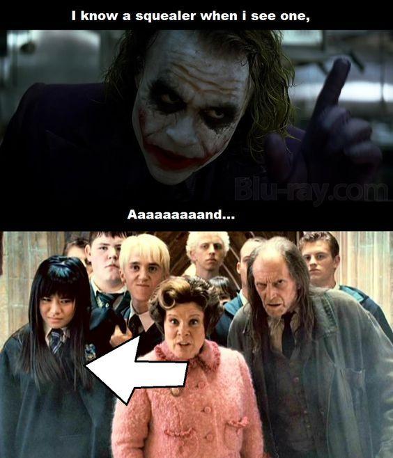 Joker Meme Harry Potter Meme Cho Chang Funny Shtuff Pinterest Harry Potter Funny Harry Potter Memes Hilarious Harry Potter Memes