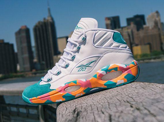 Reebok question mid, Sneakers nike