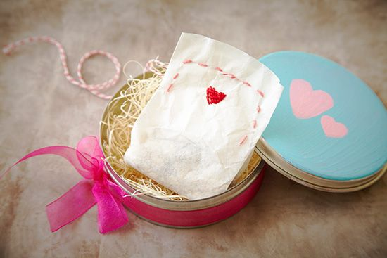 Tub Tea Bags     ~~bags are made with coffee filters