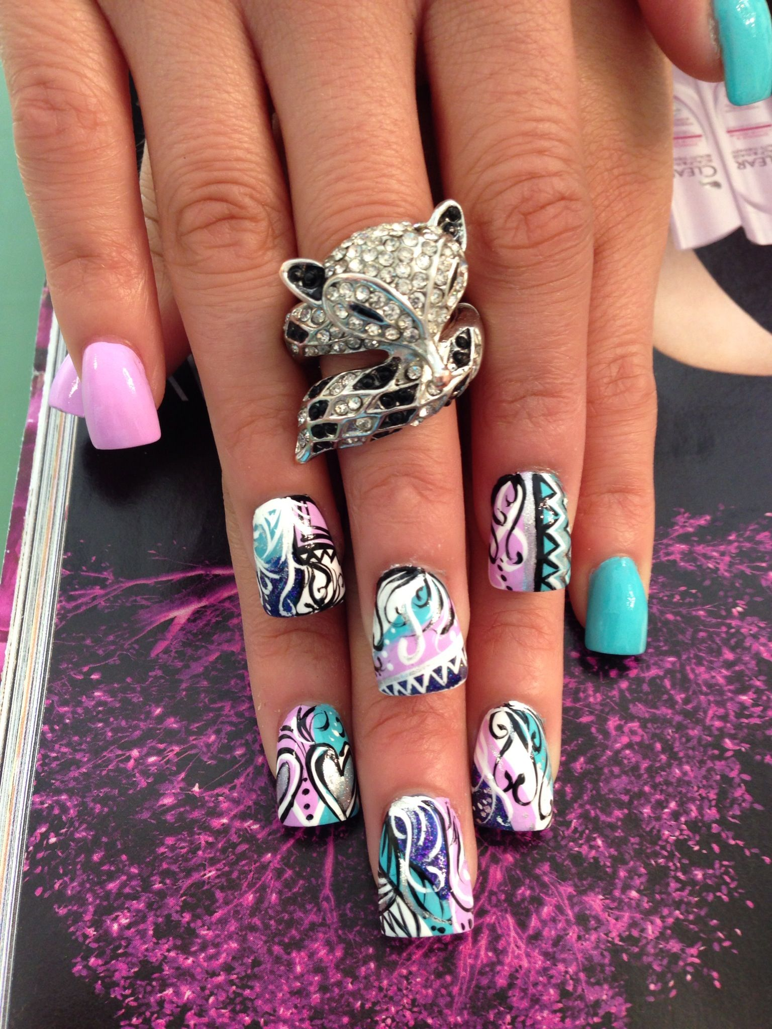 Nail design by The Nail Forum in Selden. Please call 631 716 0088 ...