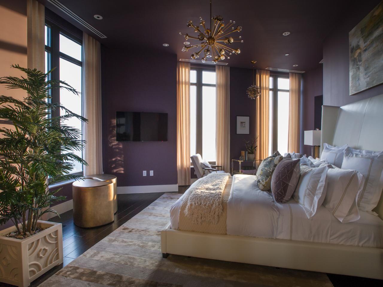 Master Bedroom From Hgtv Urban Oasis 2014 Purple Master