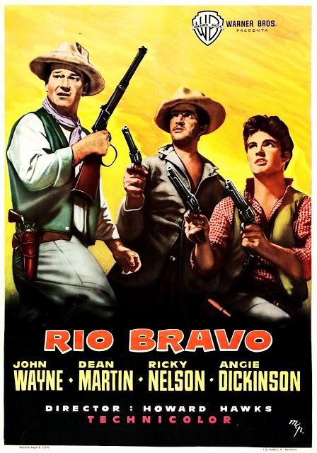 Rio Bravo Cartel 70 X 100 Cms Espana Autor Mcp Ramon Marti Joseph Clave Y Hernan Pico Impresi Carteles De Cine Rio Bravo Carteles De Pelicula Antiguos