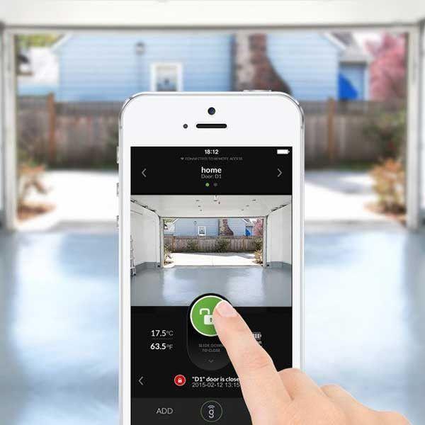 Wireless Garage Door Sensor With Images Garage Door Sensor Garage Door Opener Garage Doors