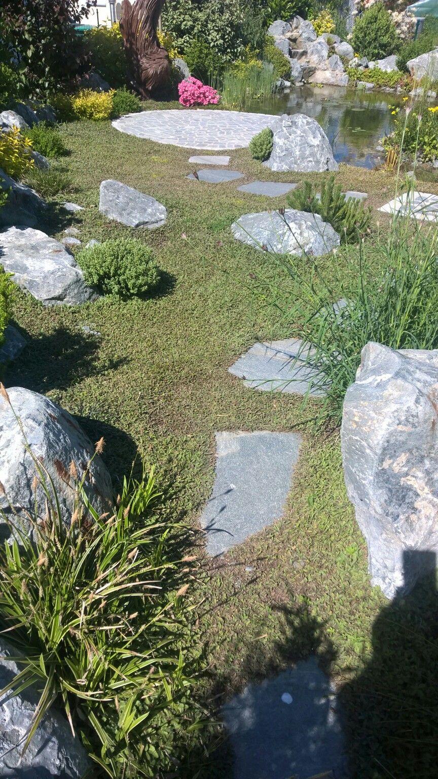 natürliche Teichanlage, Gartenteich, Bachlauf | Neues Gartendesign ...