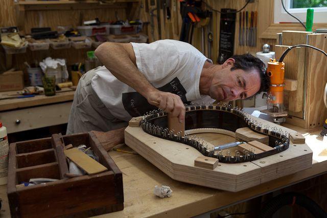 Brazilian Rosewood Custom Guitar construction, G42 #customguitars Brazilian Rosewood Custom Guitar construction, G42 #customguitars